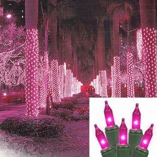 Pink Christmas Lights.Pink Christmas Lights You Ll Love Wayfair