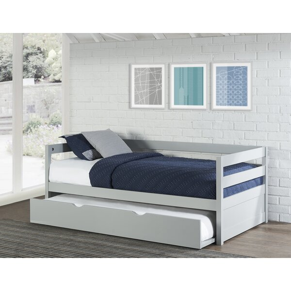 harriet bee felipe daybed with trundle wayfair ca 15086 | felipe daybed with trundle