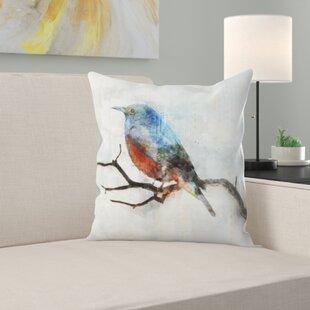 Bluebird Pillow | Wayfair