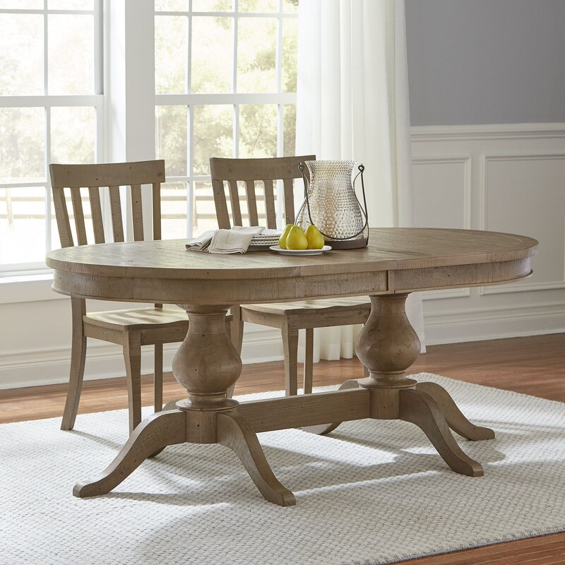 Seneca Extendable Dining Table & Reviews | Birch Lane