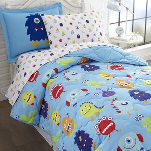 Monsters Bed-In-a-Bag Set