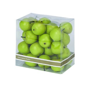 Decorative Foam Small Apple Box (Set of 27)