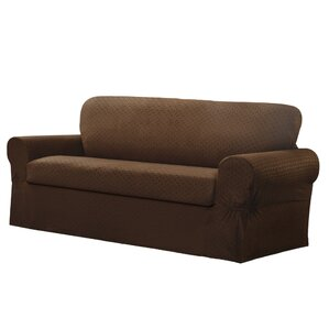 Box Cushion Sofa Slipcover by Darby Ho..
