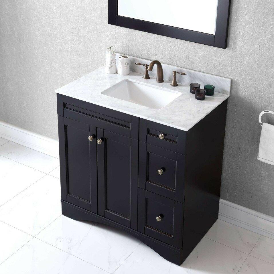 Virtu bathroom accessories - Elise 36 Bathroom Vanity Cabinet