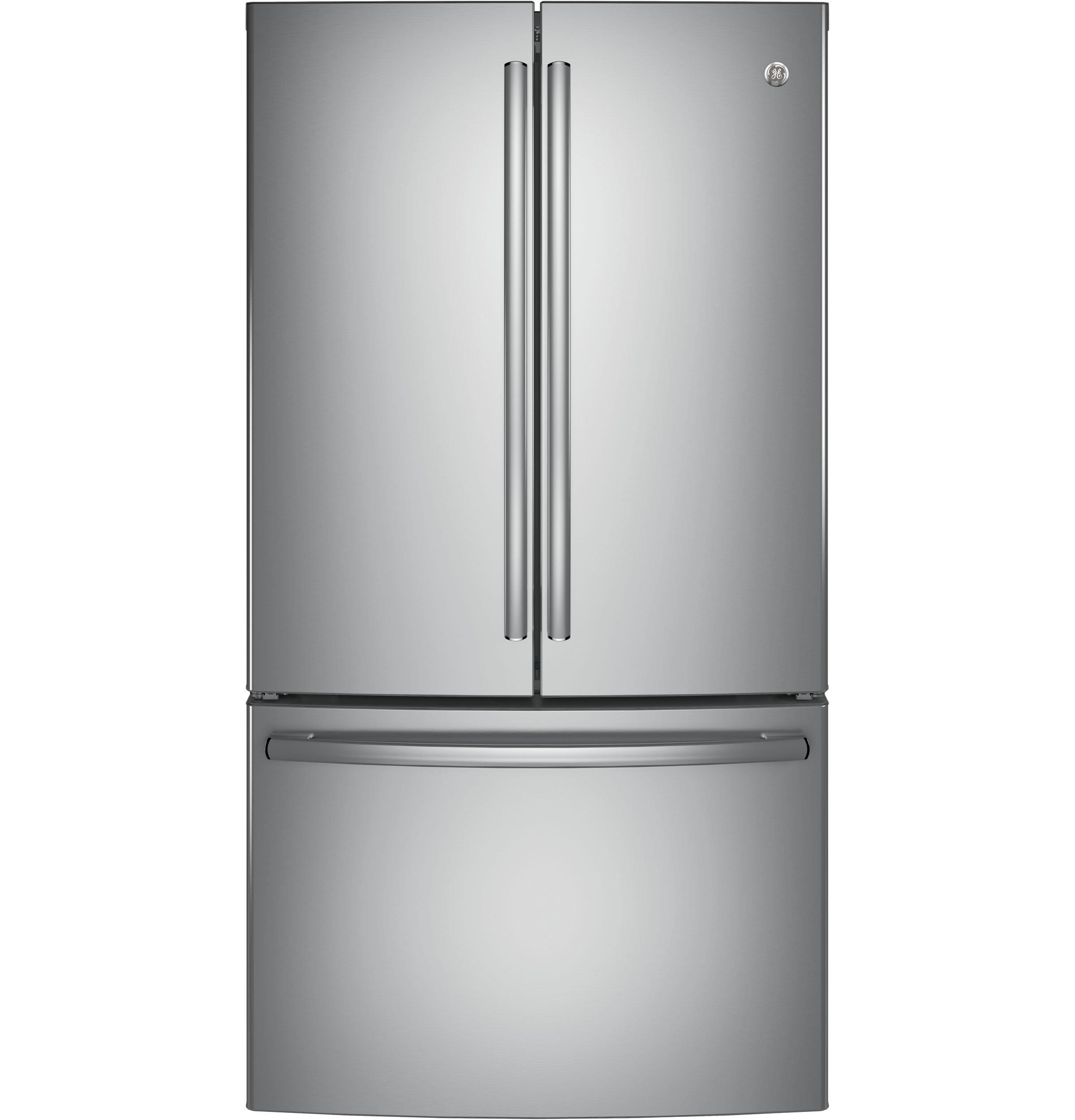 Ge Appliances 285 Cu Ft Energy Star French Door Refrigerator