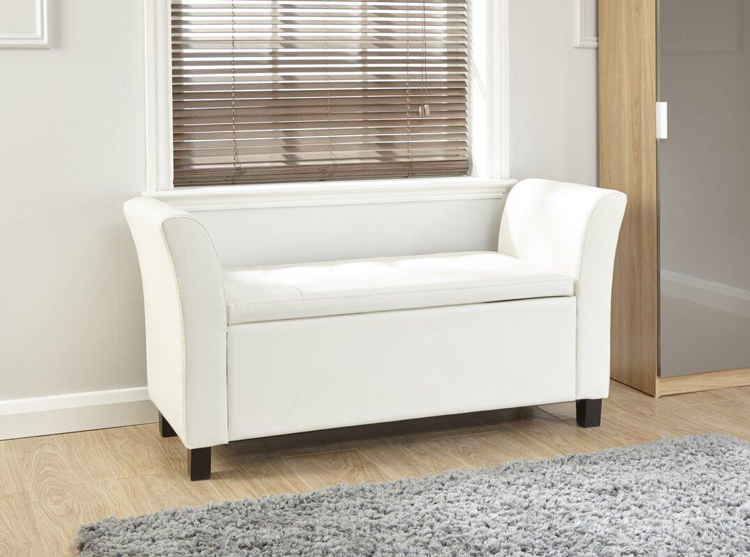m hlenhaus gepolsterte sitzbank jeanette mit stauraum. Black Bedroom Furniture Sets. Home Design Ideas