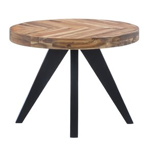 Serita Oval End Table by Union Rustic