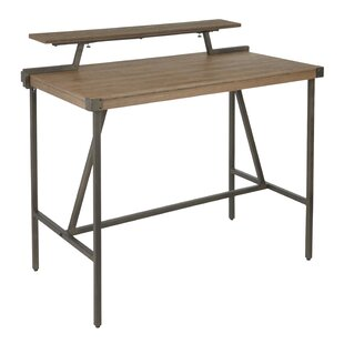 Griggs Industrial Counter Height Solid Wood Dining Table