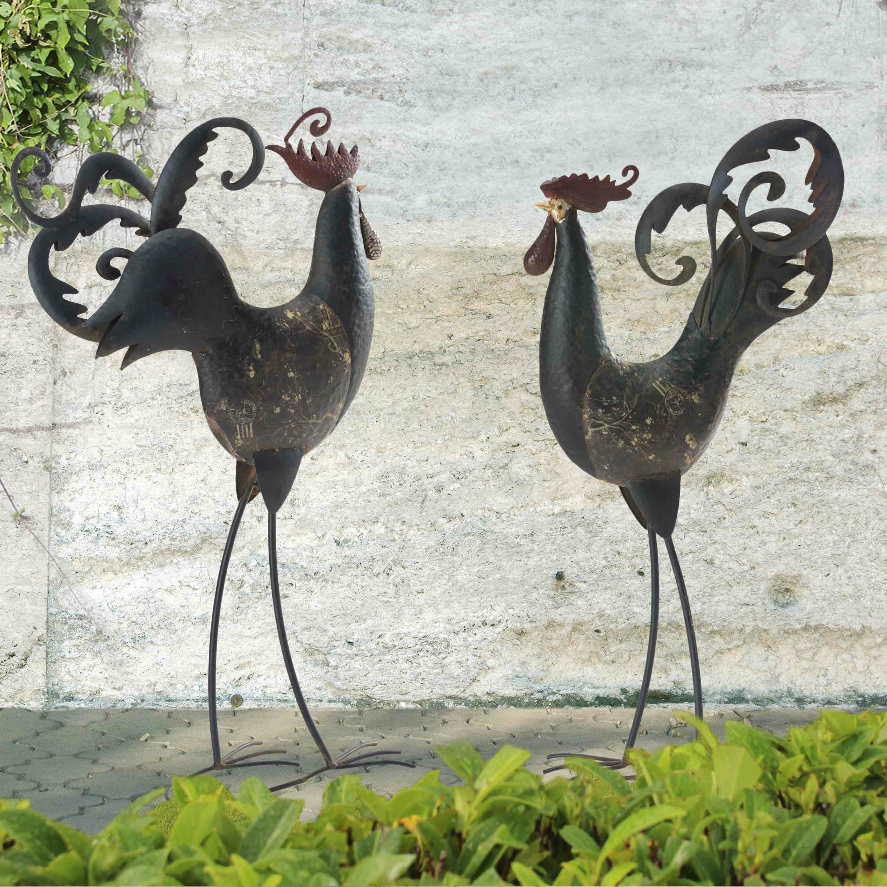 statue lady listing outdoor cat metal crazy art rustic il sculpture fullxfull garden collector landscape