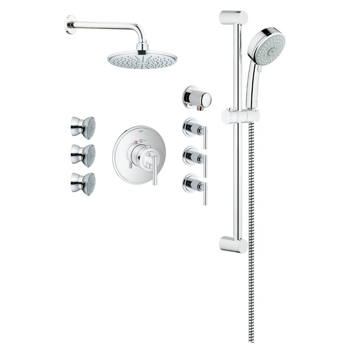 dual pro head spray review freehander shower system source grohe multi