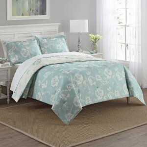Caledonia 3 Piece Reversible Comforter Set