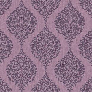 Purple wallpaper youll love wayfair save voltagebd Gallery