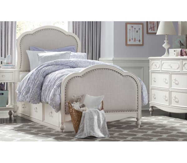 Wendy Bellissimo by LC Kids Harmony Panel Bed & Reviews | Wayfair
