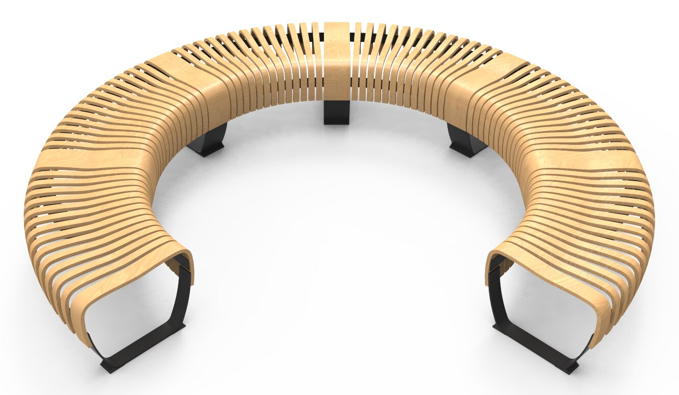 green furniture concept nova c wood omega bench wayfair