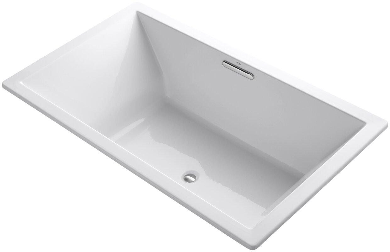 72 inch tub shower combo. Underscore 72  x 42 Soaking Bathtub Reviews AllModern