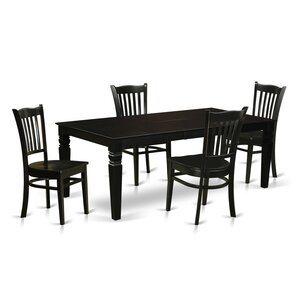 Belden 5 Piece Dining Set by Darby Home Co