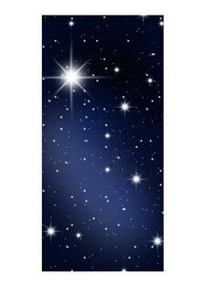 Stars 21m X 100cm Wallpaper Roll