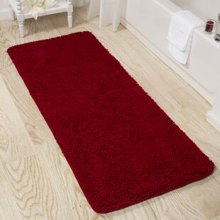 Red Bathroom Rugs
