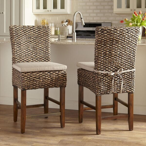 Birch Lane 24 75 Quot Woven Seagrass Bar Stool Amp Reviews