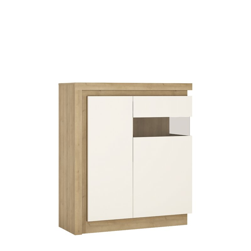 orren ellis vitrine lockheart bewertungen. Black Bedroom Furniture Sets. Home Design Ideas