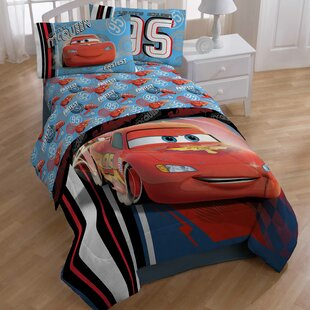Cars 95 4 Piece Sheet Set