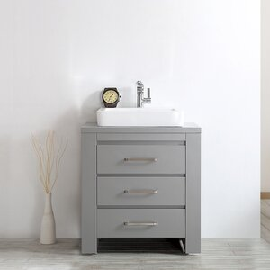 Kinchen 30 Single Bathroom Vanity Set