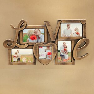 5 Opening Plastic Picture Frame