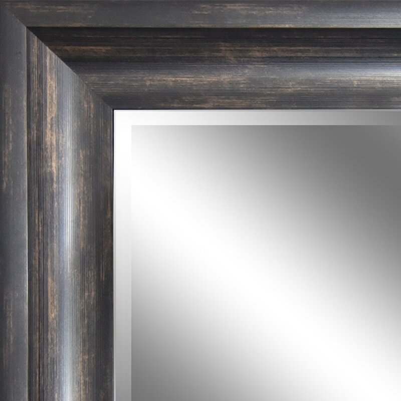 Motter Ember Bronze Reflection Beveled Wall Mirror