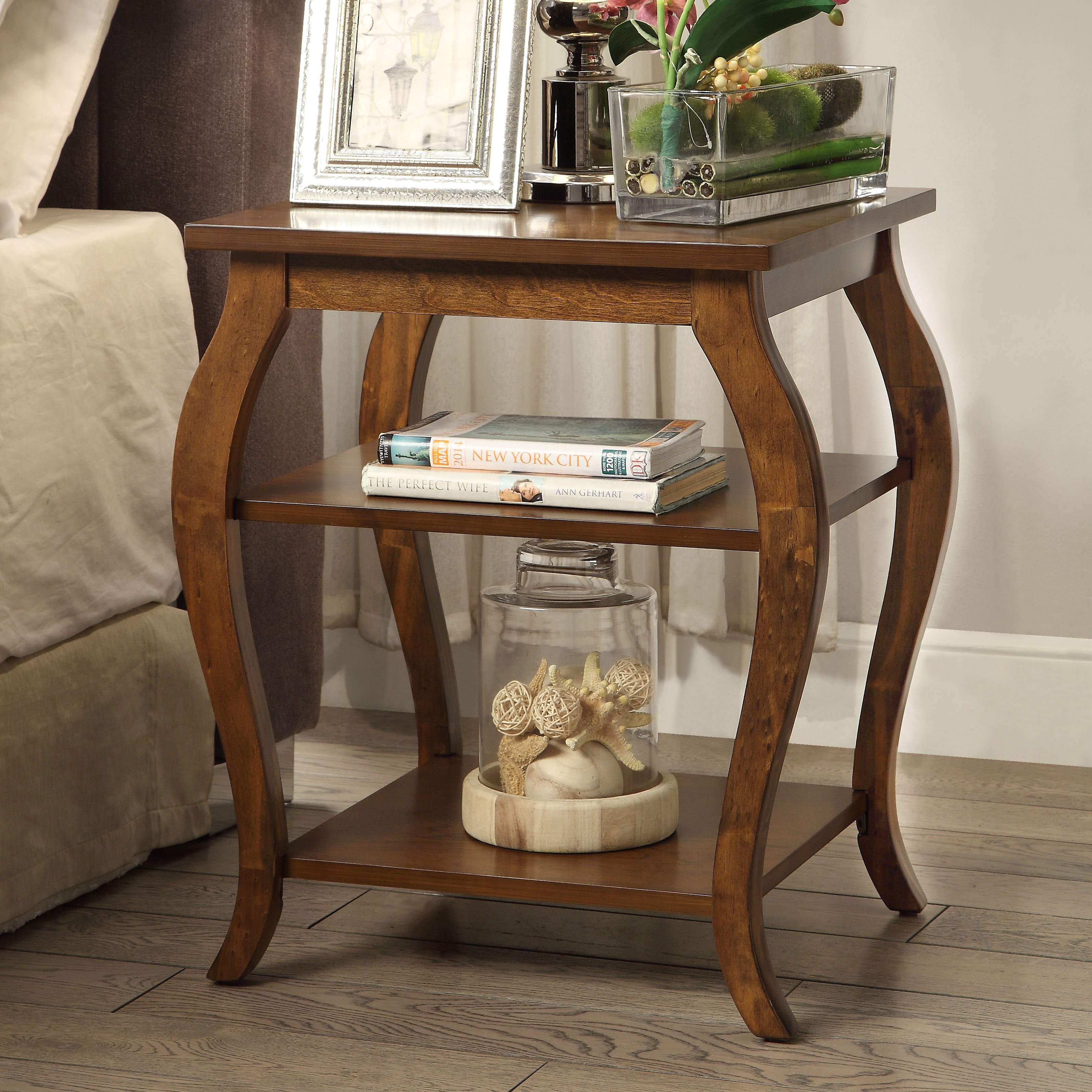 ACME Furniture Becci End Table & Reviews