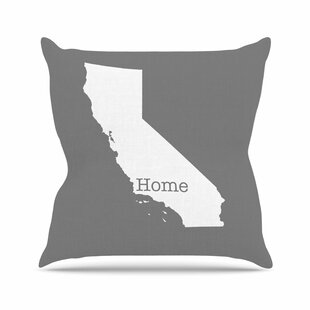Bruce Stanfield California Is Home Outdoor Throw Pillow