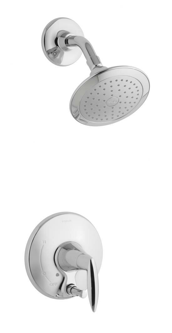 K-T45108-4-2BZ,BN,CP Kohler Alteo Shower Faucet with Push-Button ...