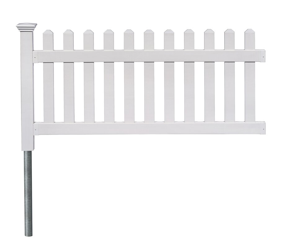 Zippity Outdoor Products 3 Ft. X 6 Ft. Newport Picket Yard