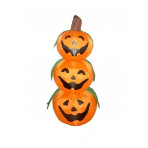 halloween inflatable 3 pumpkins decoration - Outdoor Inflatable Halloween Decorations