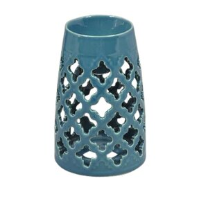 Decorative Ceramic Eastern Oil Burner Holder Votive