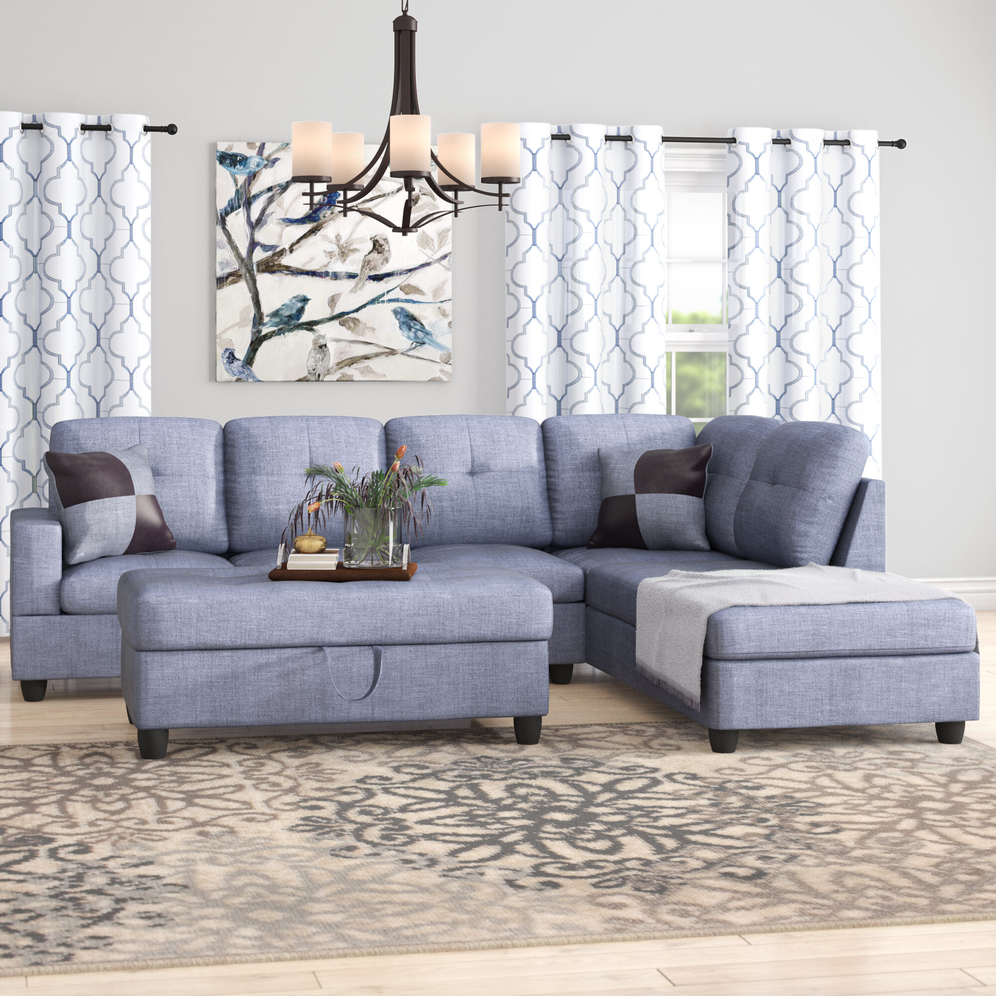 Northstate Sectional with Ottoman