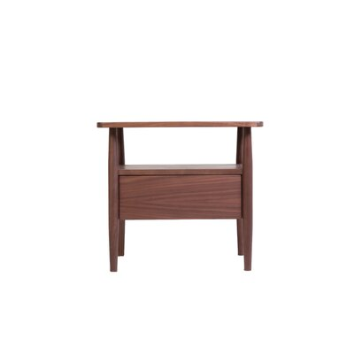 Darwin Side End Table With Storage