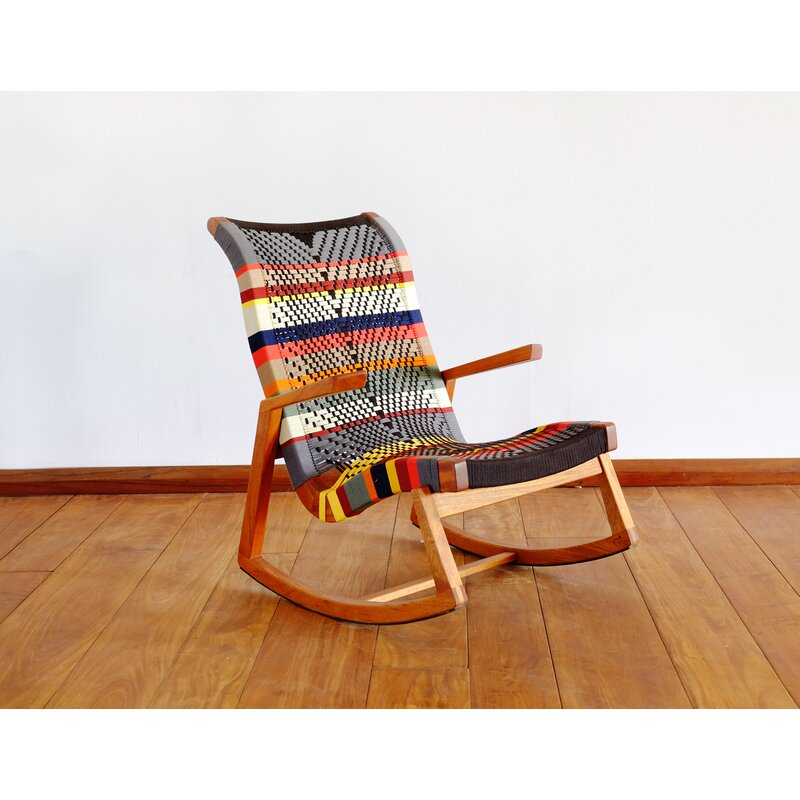 Masaya Amp Co Amador Rocking Chair Wayfair