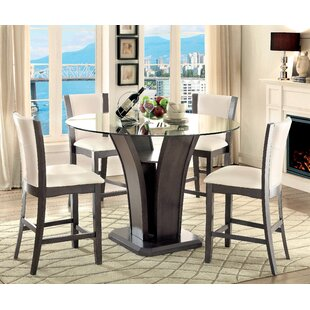 Ezmerelda 5 Piece Pub Table Set