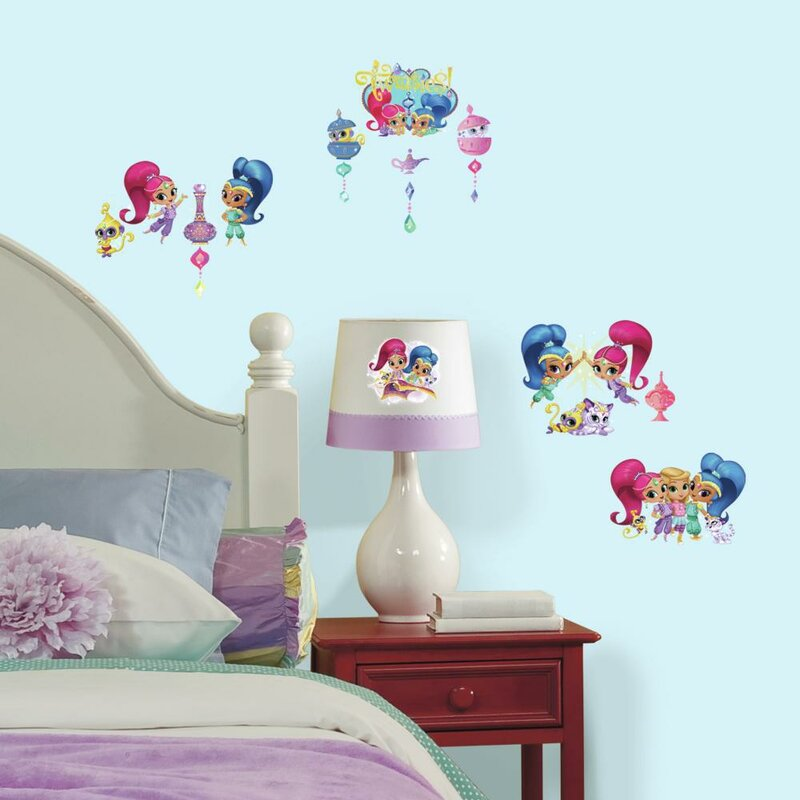 Marvelous Shimmer And Shine Peel And Stick Wall Decal Part 32