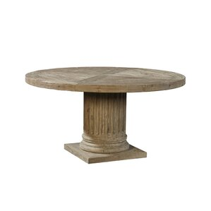 Doric Ashen Pedestal Dining Table by Furniture Classics LTD