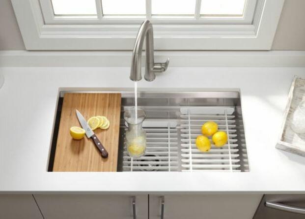 Kohler Kitchen Sink Accessories K 5540 na kohler prolific 33 x 17 34 x 11 undermount single bowl prolific 33 x 17 34 x 11 undermount single bowl workwithnaturefo