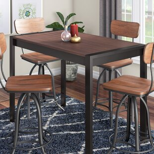 Gary Counter Height Solid Wood Dining Table