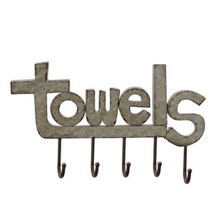 Metal Wall Mounted Towel Rack