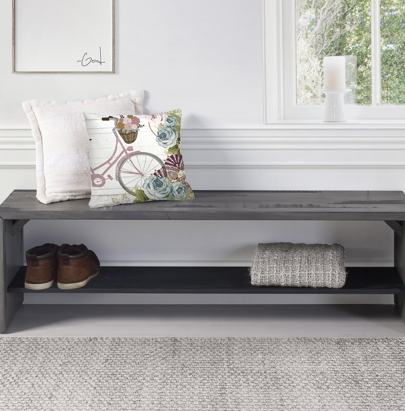 Arocho Rustic Solid Reclaimed Wood Storage Bench