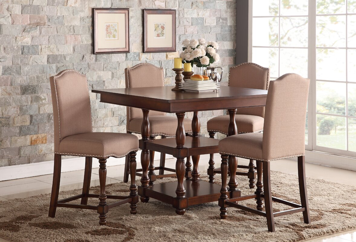 Darby Home Co Tabatha Counter Height Dining Table & Reviews