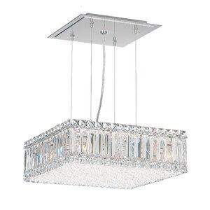 Quantum 23-Light LED Crystal Pendant