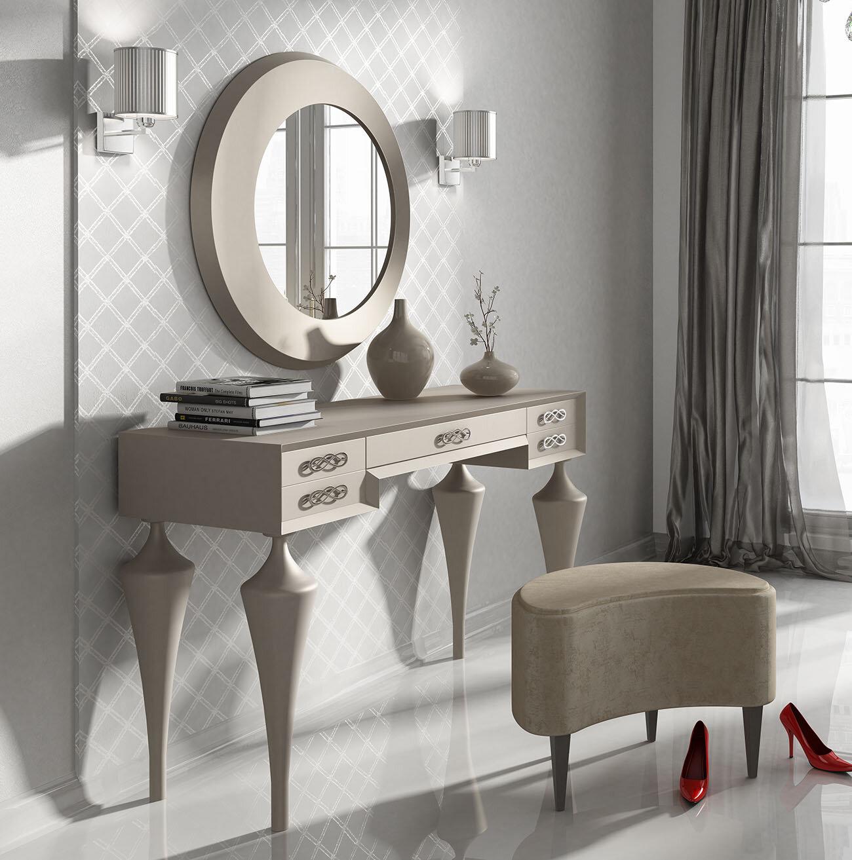 Everly Quinn Kirkwood Bedroom Makeup Vanity