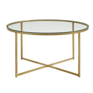 Modern Contemporary 30 Inch Round Coffee Table Allmodern