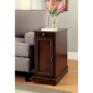 Kipling End Table With Storage by Darby Home Co