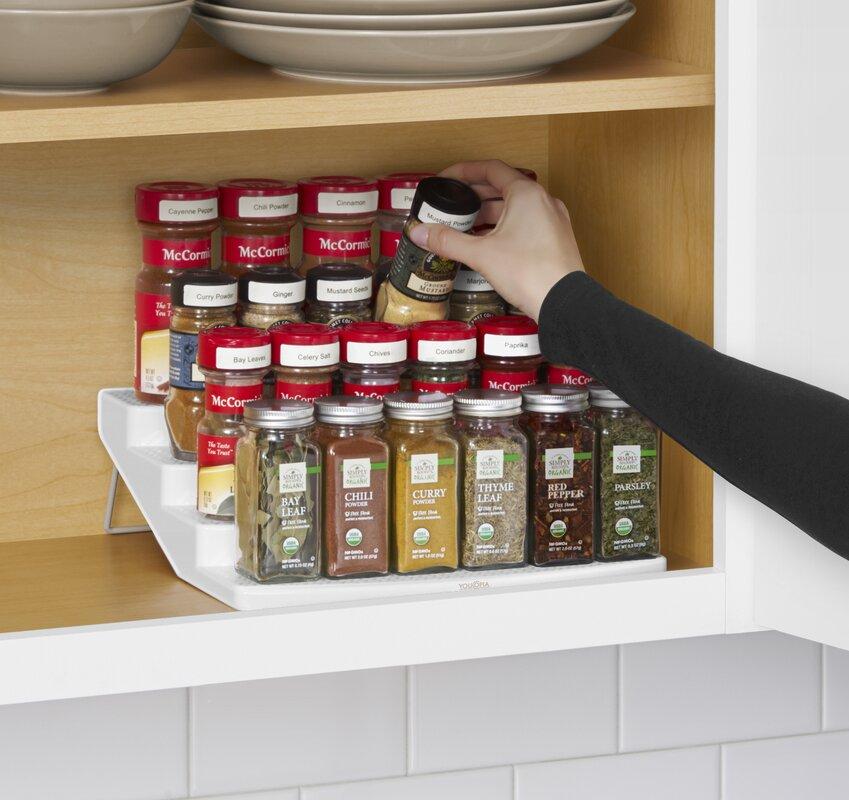 Elegant Cabinet 24 Jar Spice Rack